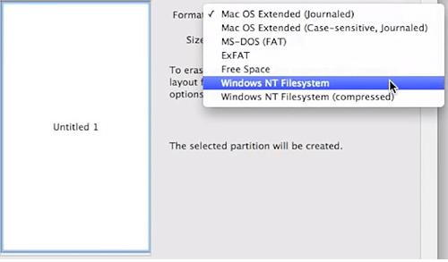 Форматирование флешки на ПК Apple для дальнейшего применения на Windows OS