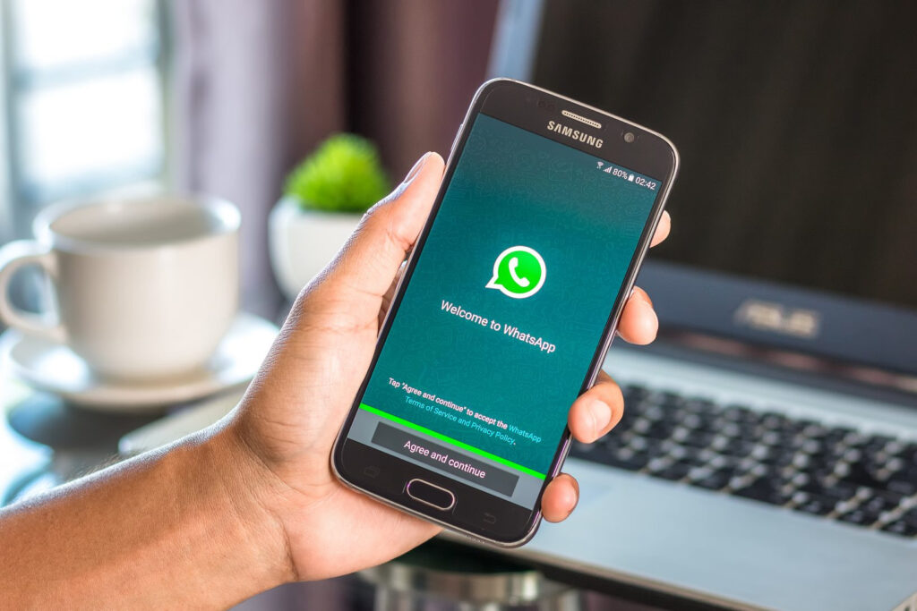Возможность звонков через WhatsApp