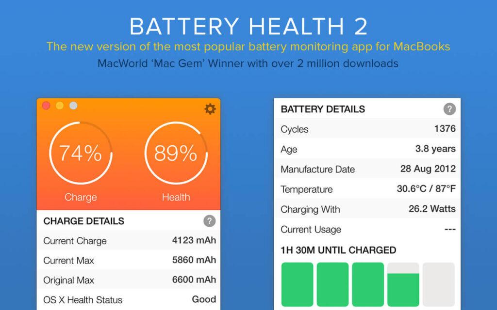 Больше данных о батарее MacBook
