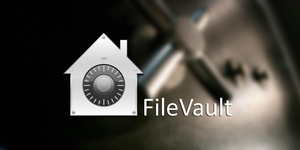 С помощью FileVault