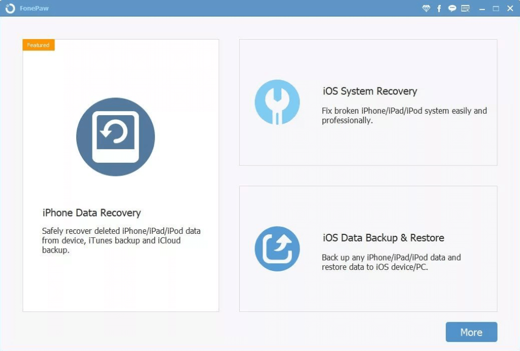 FoneLam iOS System Recovery