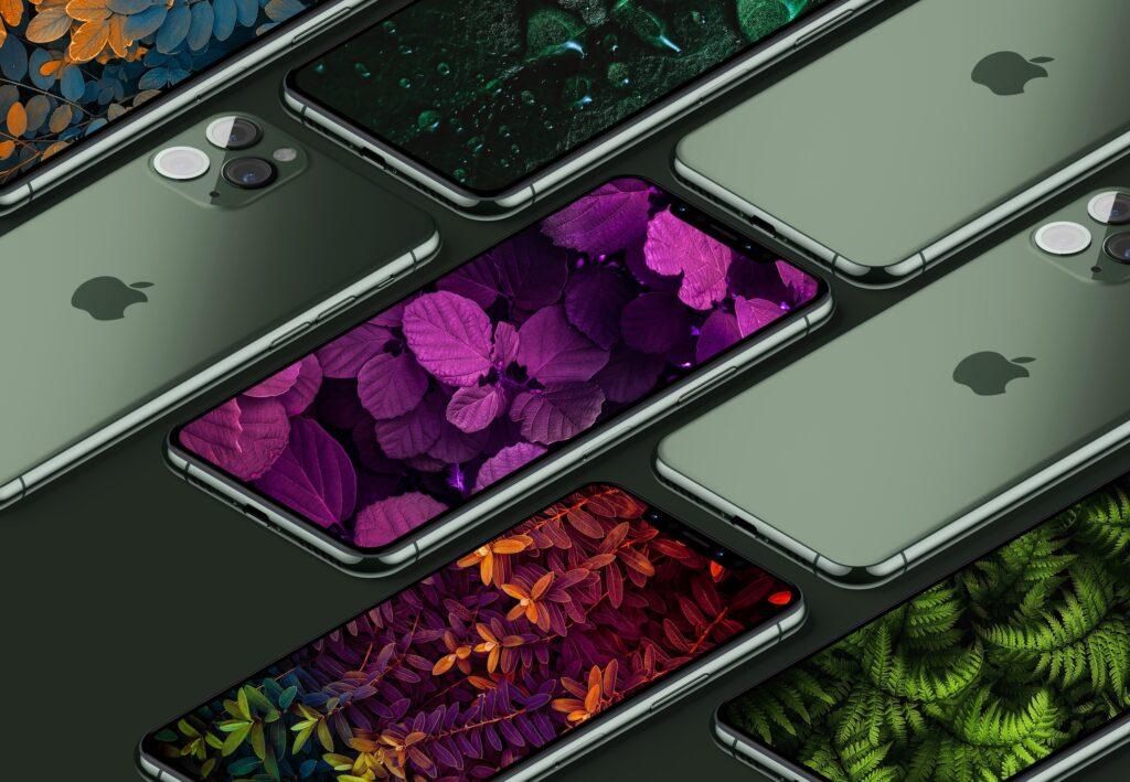 установка необычных обоев на айфон